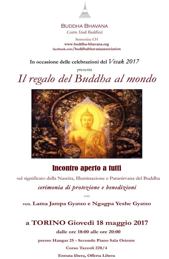 Vesak a Torino: celebrazioni il 18 maggio